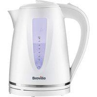 Breville VKJ952 Style Collection Jug Kettle in White 1 7L 3kW