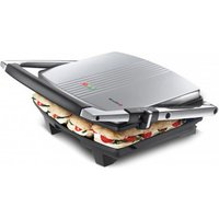 Buy Breville VST026 4 Slice Cafe Style Panini Sandwich Press in St Steel - Sonic Direct