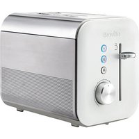 Buy Breville VTT686 2 Slice High Gloss Toaster in White 800W - Sonic Direct