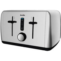 Buy Breville VTT742 Outline Collection 4 Slice Toaster in Polished St Stee - Sonic Direct