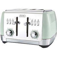 Buy Breville VTT768 Strata Collection 4 Slice Toaster in Green - Sonic Direct