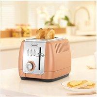 Buy Breville VTT845 Strata Luminere 2 Slice Toaster in Rose Gold - Sonic Direct