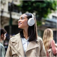 Sony WH CH710NW Over Ear Wireless Noise Cancelling Headphones in White