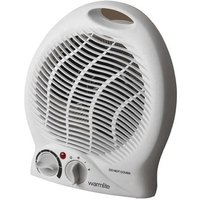 Warmlite WL44002 2kW Upright Fan Heater with Thermostat