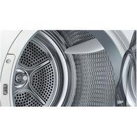 Siemens WT46W491GB iQ500 9kg Heat Pump Condenser Tumble Dryer in White