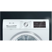 'Siemens Wt47rt90gb 9kg Heat Pump Condenser Tumble Dryer In White A