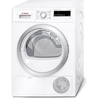 Bosch WTH85200GB Serie 4 8kg Heat Pump Tumble Dryer in White A Rated