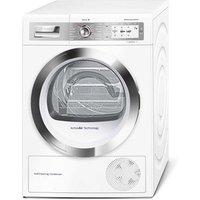 Bosch WTYH6790GB 9kg Serie 8 Heat Pump Tumble Dryer in White A