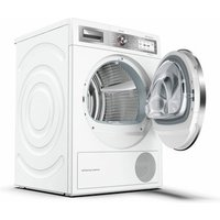 Bosch WTYH6791GB 9kg Serie 8 Heat Pump Tumble Dryer in White A