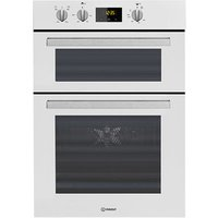 Indesit IDD6340WH Built In Electric Double Oven in White