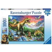 Ravensburger puzzel dinosaurussen 100 stukjes