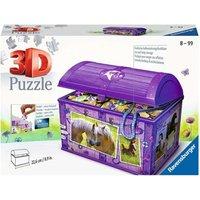 3D Puzzel - Schatkist Paarden (216 stukjes)