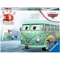 3D Puzzel - VW T1 Pixar Cars (162 stukjes)