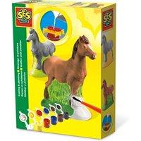Figuren gieten en schilderen: paard