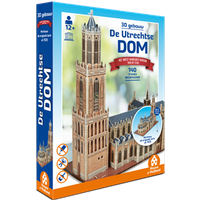 3D Gebouw - De Utrechtse Dom (140 stukjes)