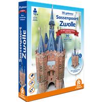 3D Gebouw - Sassenpoort Zwolle (90 stukjes)