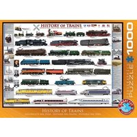History of Trains Puzzel (1000 stukjes)