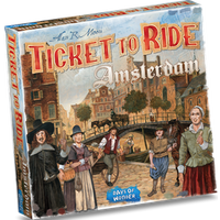 Ticket to Ride Amsterdam - Bordspel