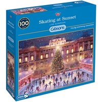 Skating at Sunset Puzzel (1000 stukjes)