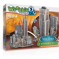 Wrebbit 3D Puzzel - New York Midtown West