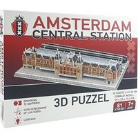 Amsterdam Centraal Station 3D Puzzel