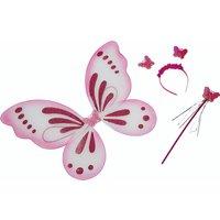 Schmetterling-Set 3-teilig