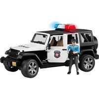 BRUDER Jeep Wrangler Rubicon Polizei