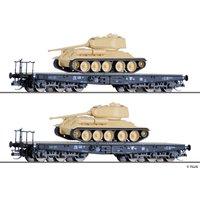 Tillig TT 01801 Panzertransportset DR III