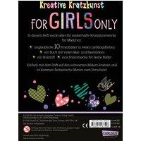 Kratzkunst Für Mädchen-For Girls only