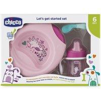 Chicco Geschenkset Geschirr Pink ab 6 Monate