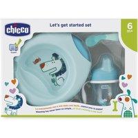 Chicco Geschenkset Geschirr Blau ab 6 Monate