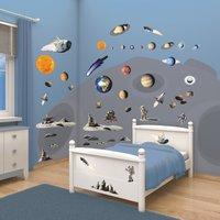 Walltastic Raumdekorset Weltraum