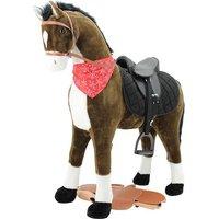Sweety Toys 11087 Stehpferd 125cm mit Sattel
