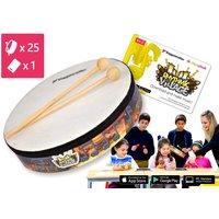 25-teilige Trommel-Kiste Rhythmic-Village 1