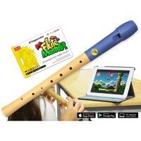 Flute Master mit Holz-Kunststoff-Blockflöte