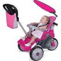 Feber Dreirad Easy Evolution pink