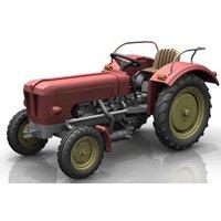 NPE NA99024 Schlüter Traktor S350 rot