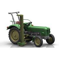 NPE NA99097 Schlüter Traktor S 350 grün