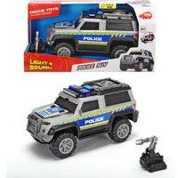 Polizei SUV mit Licht