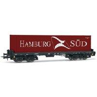 Rivarossi HR6404 H0 Containerwagen Sgmms 738