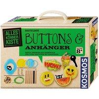 KOSMOS Alles Könner Kiste Buttons und Anhänger