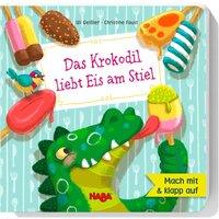 HABA 303532 Das Krokodil liebt Eis am Stiel