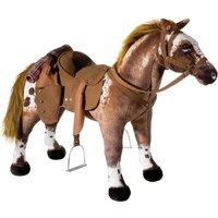 Heunec Cowboypferd stehend mit Sound 80 cm