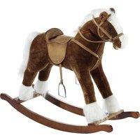 Heunec Schaukel Pferd mit Sound braun 105 cm