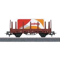 Märklin Start up H0 Rungenwagen mit Container