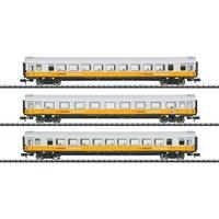 """Minitrix T15673 N Wagen-Set """"Lufthansa"""" DB V"""