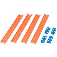 Hot Wheels orange Track 4er Pack