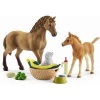 Schleich 42432 Horse Club Sarahs Tierbaby-Pflege