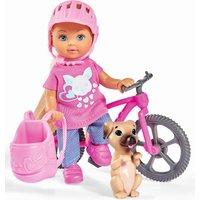 Evi Love Fereinspaß mit Fahrrad und Hund