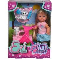 Evi mit Katzenbuggy